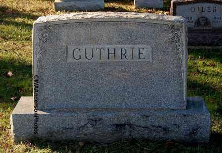 GUTHRIE, FAMILY MONUMENT - Gallia County, Ohio | FAMILY MONUMENT GUTHRIE - Ohio Gravestone Photos