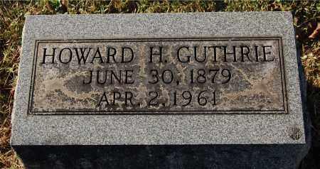 GUTHRIE, HOWARD H - Gallia County, Ohio | HOWARD H GUTHRIE - Ohio Gravestone Photos