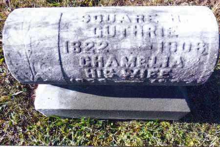 WILCOX GUTHRIE, CHAMELIA - Gallia County, Ohio | CHAMELIA WILCOX GUTHRIE - Ohio Gravestone Photos