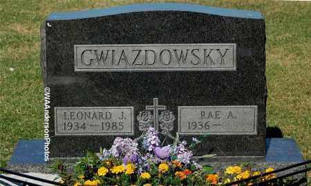 GWIAZDOWSKY, LEONARD J - Gallia County, Ohio | LEONARD J GWIAZDOWSKY - Ohio Gravestone Photos