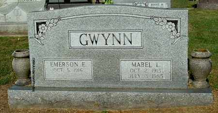 GWYNN, EMERSON E - Gallia County, Ohio | EMERSON E GWYNN - Ohio Gravestone Photos