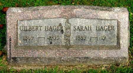 HAGER, GILBERT - Gallia County, Ohio | GILBERT HAGER - Ohio Gravestone Photos