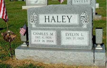 HALEY, EVELYN L - Gallia County, Ohio | EVELYN L HALEY - Ohio Gravestone Photos