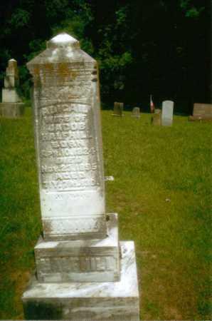 BARRETT HALFHILL, ABAGAIL - Gallia County, Ohio   ABAGAIL BARRETT HALFHILL - Ohio Gravestone Photos