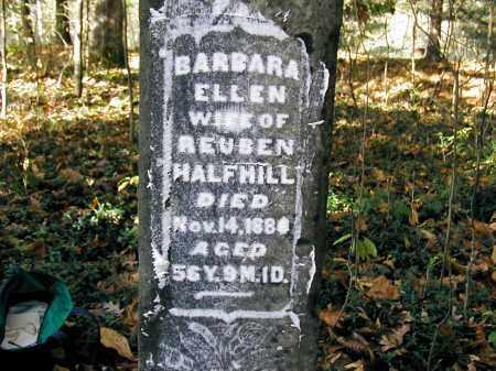 HALFHILL, BARBARA ELLEN - Gallia County, Ohio | BARBARA ELLEN HALFHILL - Ohio Gravestone Photos