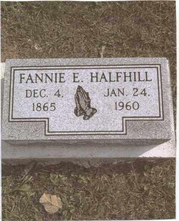 HALFHILL, FANNIE - Gallia County, Ohio   FANNIE HALFHILL - Ohio Gravestone Photos