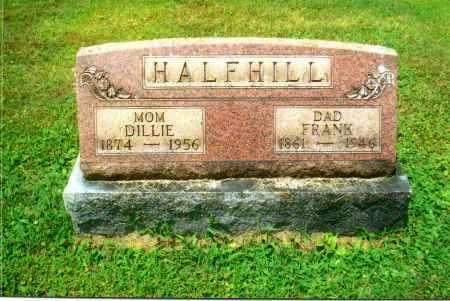 LEMLEY HALFHILL, DILLIE - Gallia County, Ohio | DILLIE LEMLEY HALFHILL - Ohio Gravestone Photos