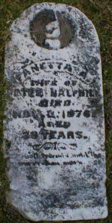 HALFHILL, FANETTA - Gallia County, Ohio | FANETTA HALFHILL - Ohio Gravestone Photos