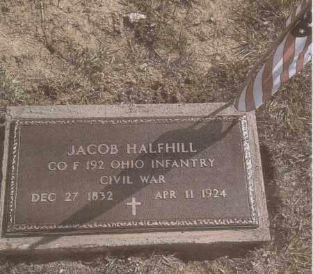 HALFHILL, JACOB - Gallia County, Ohio   JACOB HALFHILL - Ohio Gravestone Photos