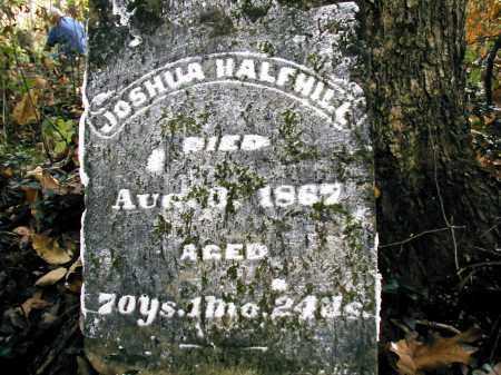 HALFHILL, JOSHUA - Gallia County, Ohio   JOSHUA HALFHILL - Ohio Gravestone Photos