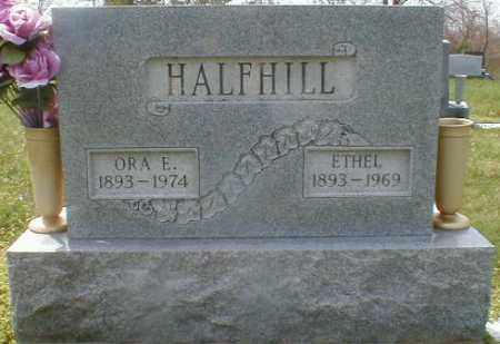 BAIRD HALFHILL, ETHEL - Gallia County, Ohio | ETHEL BAIRD HALFHILL - Ohio Gravestone Photos