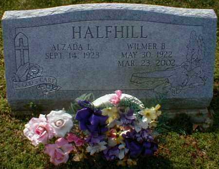 HALFHILL, WILMER - Gallia County, Ohio   WILMER HALFHILL - Ohio Gravestone Photos