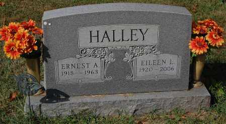 HALLEY, EILEEN L. - Gallia County, Ohio | EILEEN L. HALLEY - Ohio Gravestone Photos