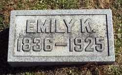HAMILTON, EMILY - Gallia County, Ohio | EMILY HAMILTON - Ohio Gravestone Photos