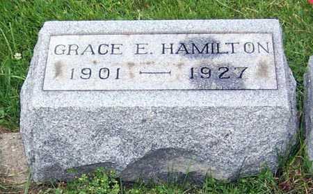 HAMILTON, GRACE E. - Gallia County, Ohio   GRACE E. HAMILTON - Ohio Gravestone Photos