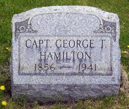 HAMILTON, GEORGE THOMAS - Gallia County, Ohio   GEORGE THOMAS HAMILTON - Ohio Gravestone Photos