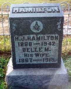HAMILTON, HERMAN J. - Gallia County, Ohio | HERMAN J. HAMILTON - Ohio Gravestone Photos