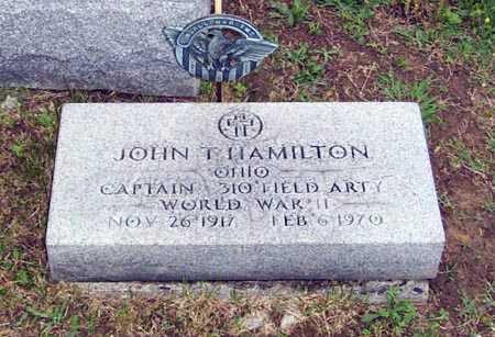 HAMILTON, JOHN THOMAS - Gallia County, Ohio | JOHN THOMAS HAMILTON - Ohio Gravestone Photos