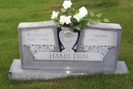 COTTON HAMILTON, RUTHELLA J. - Gallia County, Ohio | RUTHELLA J. COTTON HAMILTON - Ohio Gravestone Photos