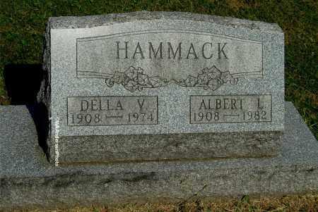 HAMMACK, DELLA V - Gallia County, Ohio   DELLA V HAMMACK - Ohio Gravestone Photos