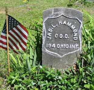 HAMMOND, JAS.L. - Gallia County, Ohio   JAS.L. HAMMOND - Ohio Gravestone Photos