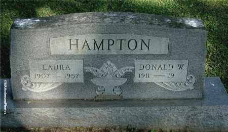 HAMPTON, DONALD W - Gallia County, Ohio | DONALD W HAMPTON - Ohio Gravestone Photos