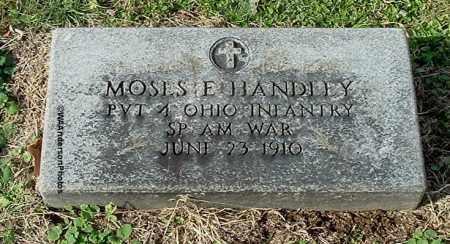 HANDLEY, MOSES ELLSWORTH - Gallia County, Ohio   MOSES ELLSWORTH HANDLEY - Ohio Gravestone Photos