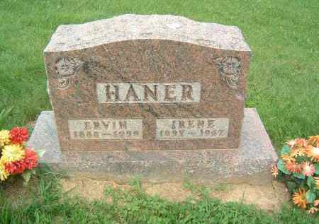 HANER, ERVIN - Gallia County, Ohio | ERVIN HANER - Ohio Gravestone Photos