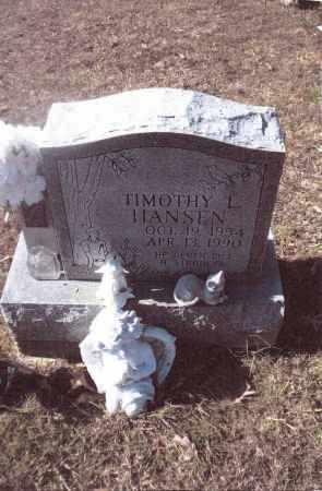 HANSEN, TIMOTHY L. - Gallia County, Ohio | TIMOTHY L. HANSEN - Ohio Gravestone Photos