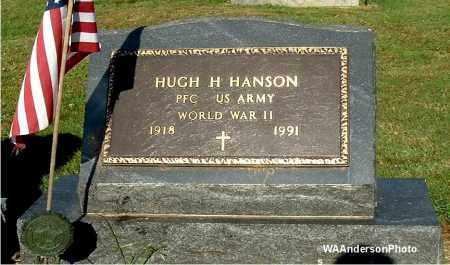 HANSON, HUGH H - Gallia County, Ohio   HUGH H HANSON - Ohio Gravestone Photos