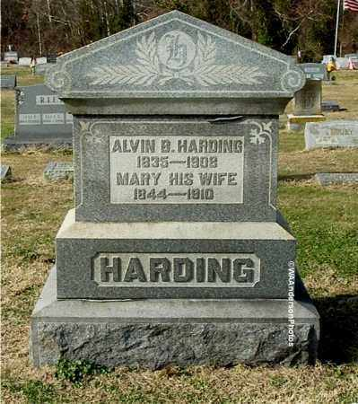 HARDING, ALVIN B - Gallia County, Ohio | ALVIN B HARDING - Ohio Gravestone Photos