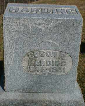 HARDING, EDSON - Gallia County, Ohio   EDSON HARDING - Ohio Gravestone Photos