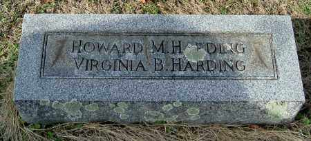 HARDING, HOWARD M - Gallia County, Ohio | HOWARD M HARDING - Ohio Gravestone Photos