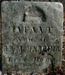 HARDING, INFANT SON - Gallia County, Ohio | INFANT SON HARDING - Ohio Gravestone Photos