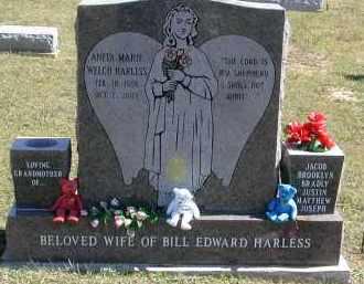 HARLESS, ANITA - Gallia County, Ohio   ANITA HARLESS - Ohio Gravestone Photos