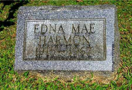 GODFREY HARMON, EDNA MAE - Gallia County, Ohio | EDNA MAE GODFREY HARMON - Ohio Gravestone Photos