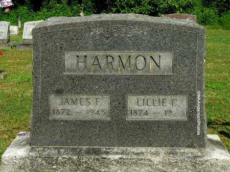 HARMON, JAMES F - Gallia County, Ohio | JAMES F HARMON - Ohio Gravestone Photos