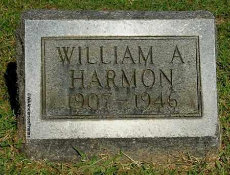 HARMON, WILLIAM A - Gallia County, Ohio   WILLIAM A HARMON - Ohio Gravestone Photos