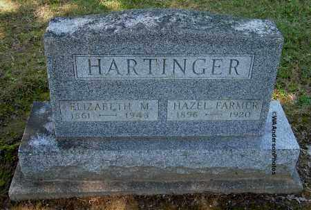 FARMER HARTINGER, HAZEL - Gallia County, Ohio | HAZEL FARMER HARTINGER - Ohio Gravestone Photos