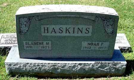 HASKINS, BLANCHE M - Gallia County, Ohio | BLANCHE M HASKINS - Ohio Gravestone Photos