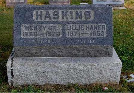 HANER HASKINS, LILLIE - Gallia County, Ohio | LILLIE HANER HASKINS - Ohio Gravestone Photos