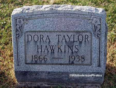 HAWKINS, DORA - Gallia County, Ohio   DORA HAWKINS - Ohio Gravestone Photos