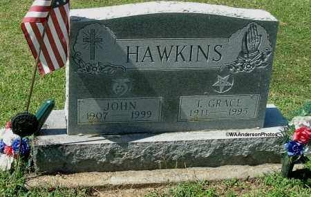 HAWKINS, T. GRACE - Gallia County, Ohio | T. GRACE HAWKINS - Ohio Gravestone Photos