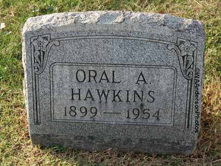 HAWKINS, ORAL A - Gallia County, Ohio | ORAL A HAWKINS - Ohio Gravestone Photos