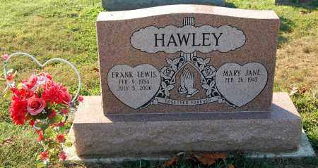 HAWLEY, MARY JANE - Gallia County, Ohio | MARY JANE HAWLEY - Ohio Gravestone Photos