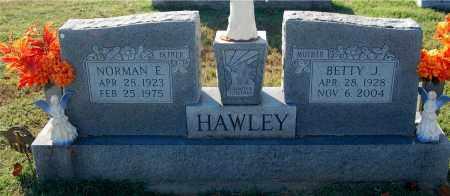 HAWLEY, NORMAN E. - Gallia County, Ohio | NORMAN E. HAWLEY - Ohio Gravestone Photos