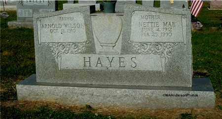 HAYES, NETTIE MAE - Gallia County, Ohio | NETTIE MAE HAYES - Ohio Gravestone Photos