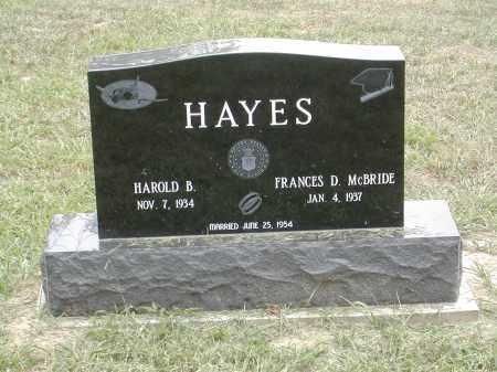 HAYES, HAROLD - Gallia County, Ohio | HAROLD HAYES - Ohio Gravestone Photos