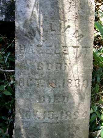 HAZELETT, WILLIAM - Gallia County, Ohio | WILLIAM HAZELETT - Ohio Gravestone Photos