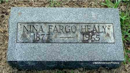 HEALY, NINA - Gallia County, Ohio | NINA HEALY - Ohio Gravestone Photos